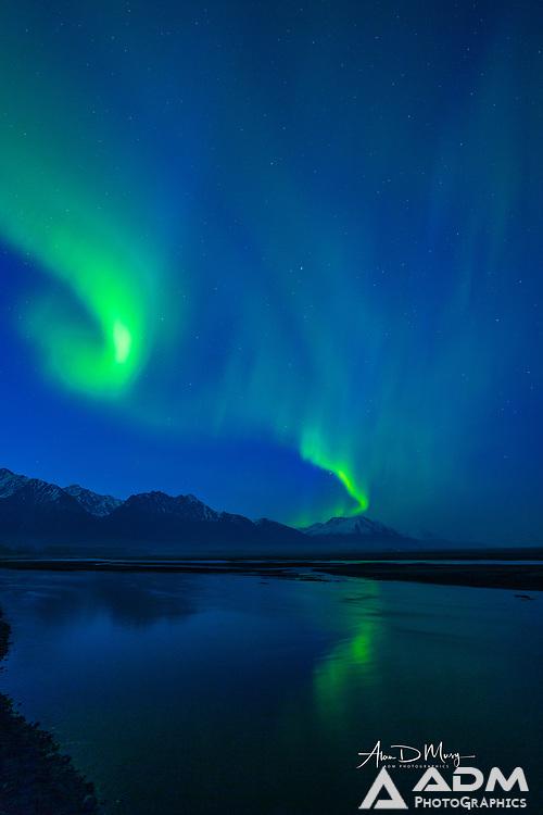 Aurora Borealis over Knik River