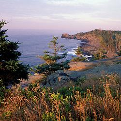Monhegan Island, ME. Cliffs.