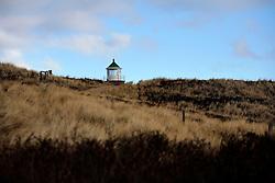 GERMANY SCHLESWIG-HOLSTEIN SYLT 2FEB13 - ..Old lighthouse in the dunes near Kampen, Sylt, northern Germany...jre/Photo by Jiri Rezac..© Jiri Rezac 2013