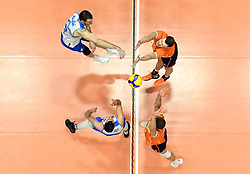 Alen Pajenk of Slovenia during friendly volleyball match between National Men teams of Slovenia and Netherlands, on Januar 2nd, 2020, in Dvorana Tabor, Maribor, Slovenia. Photo by Milos Vujinovic / Sportida
