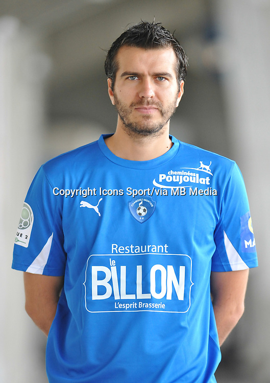 Jimmy JUAN - 26.10.2013 - Photo Officielle - Niort -<br /> Photo : Icon Sport