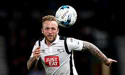 Johnny Russell of Derby County watches the ball - Mandatory by-line: Robbie Stephenson/JMP - 31/03/2017 - FOOTBALL - iPro Stadium - Derby, England - Derby County v Queens Park Rangers - Sky Bet Championship