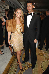 TANCREDI SIGNORELLI and LYDIA FORTE at the Chain of Hope Ball held at The Dorchester, Park Lane, London on 4th February 2008.<br />
