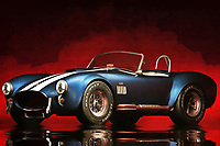 The Ford Cobra is certainly a thing of beauty. Beyond the aesthetic charm, however, this is a vehicle that can truly rip the road wide open. It isn't difficult to look at something like this, and imagine the chance to gun the motor to the hilt. This is a vehicle that makes you want to explore everything the open road had to offer. With art like this, it's easy to be transported to somewhere else entirely. This is perfect for anyone who loves everything classic cars have to offer. This roadster art is available as wall art, as a t-shirt, or in the form of interior products.<br />