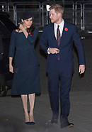 Royals Attend Armistice Service