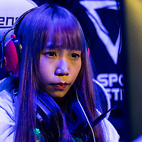 Team HLL's BeiBei competes against team Just Kittin' during the SHERO Invitational of the E-Sports Festival 2017 Hong Kong at the Hong Kong Convention and Exhibition Centre on 26 August 2017 in Hong Kong, China. Photo by Yu Chun Christopher Wong / studioEAST