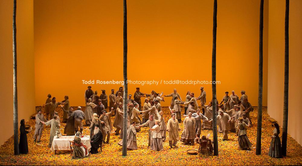 2/23/17 2:12:39 PM <br /> Lyric Opera of Chicago<br /> <br /> Eugene Onegin Dress Rehearsal<br /> <br /> Mariusz Kwiecien -Eugene Onegin<br /> Ana Maria Martinez -Tatiana<br /> Charles Castronovo-Vladamir<br /> Alisa Kolosova- Olga<br /> <br /> &copy; Todd Rosenberg Photography 2017