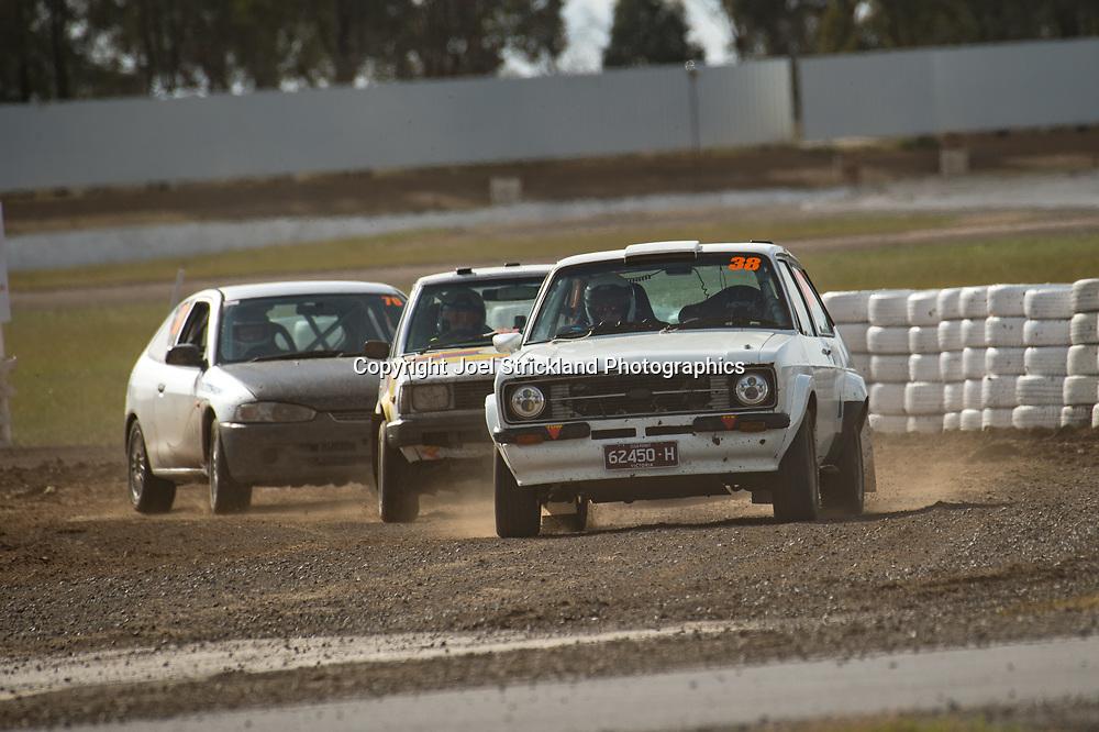 Cody Richards - Ford Escort MK2 - Rallycross Australia - Winton Raceway - 16th July 2017