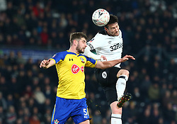 January 5, 2019 - Derby, England, United Kingdom - Derby, England - 05 January, 2019.Derby County's David Nugent.during FA Cup 3rd Round between Derby County  and Southampton at Pride Park stadium , Derby, England on 05 Jan 2019. (Credit Image: © Action Foto Sport/NurPhoto via ZUMA Press)
