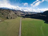 Matukituki Valley road, Mount Aspiring National Park