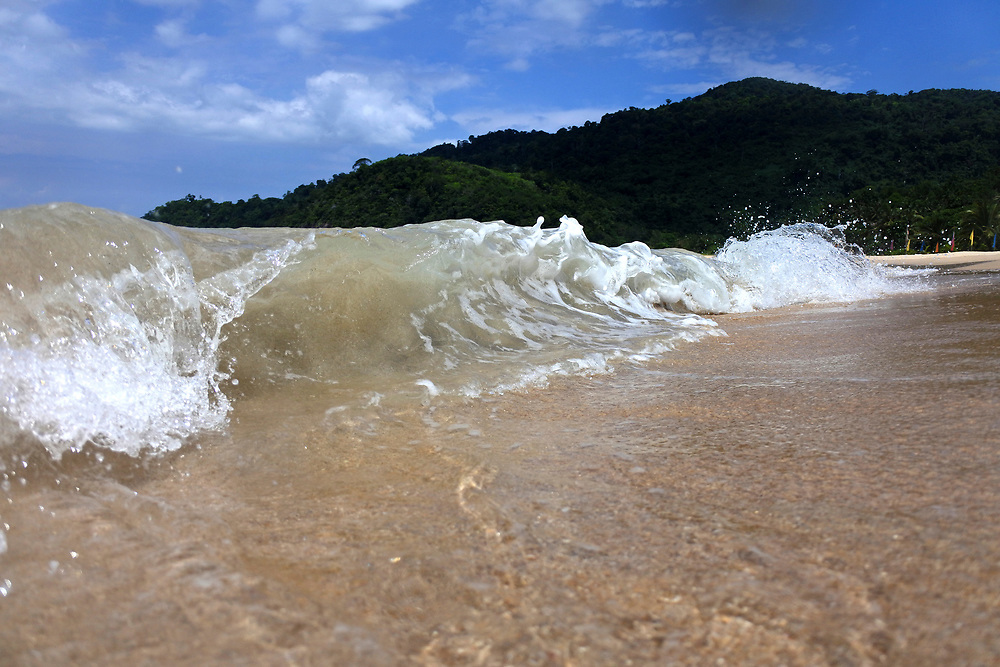 Waves from Tiomen Islands, Malaysia