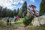 Haley Batten (USA) during the Team Relay  at the 2018 UCI MTB World Championships - Lenzerheide, Switzerland