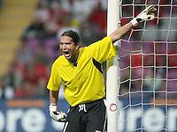 Fussball International Laenderspiel Schweiz 2-0 Costa Rica COR Torwart Adrian De Lemos