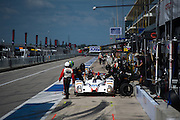 September 19, 2015: Tudor at Circuit of the Americas. #54 Bennett, Braun,  CORE Autosport Oreca pitstop