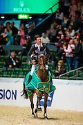 Steve Guerdat - Nino des Buissonnets<br /> Rolex FEI World Cup Final 2013<br /> &copy; DigiShots