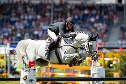 ESTERMANN Paul (SUI), Curtis Sitte<br /> Aachen - CHIO 2018<br /> Preis von Nordrhein-Westfalen<br /> 20. Juli 2018<br /> © www.sportfotos-lafrentz.de/Stefan Lafrentz