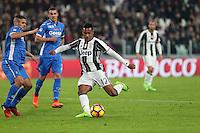 25.02.2017 - Torino - Serie A 2016/17 - 26a giornata  -  Juventus-Empoli nella  foto: Alex Sandro  segna  il gol del 2 a 0