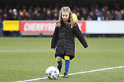 *** during the EFL Sky Bet League 1 match between AFC Wimbledon and Northampton Town at the Cherry Red Records Stadium, Kingston, England on 10 February 2018. Picture by Matthew Redman.