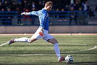 Trival Valderas's Kike during 2014-15 Spanish Second Division B match between Trival Valderas and Real Madrid Castilla at La Canaleja stadium in Alcorcon, Madrid, Spain. February 01, 2015. (ALTERPHOTOS/Luis Fernandez)