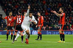 Goal, Troy Deeney of Watford scores, Bournemouth 1-2 Watford - Mandatory by-line: Jason Brown/JMP - 21/01/2017 - FOOTBALL - Vitality Stadium - Bournemouth, England - Bournemouth v Watford - Premier League
