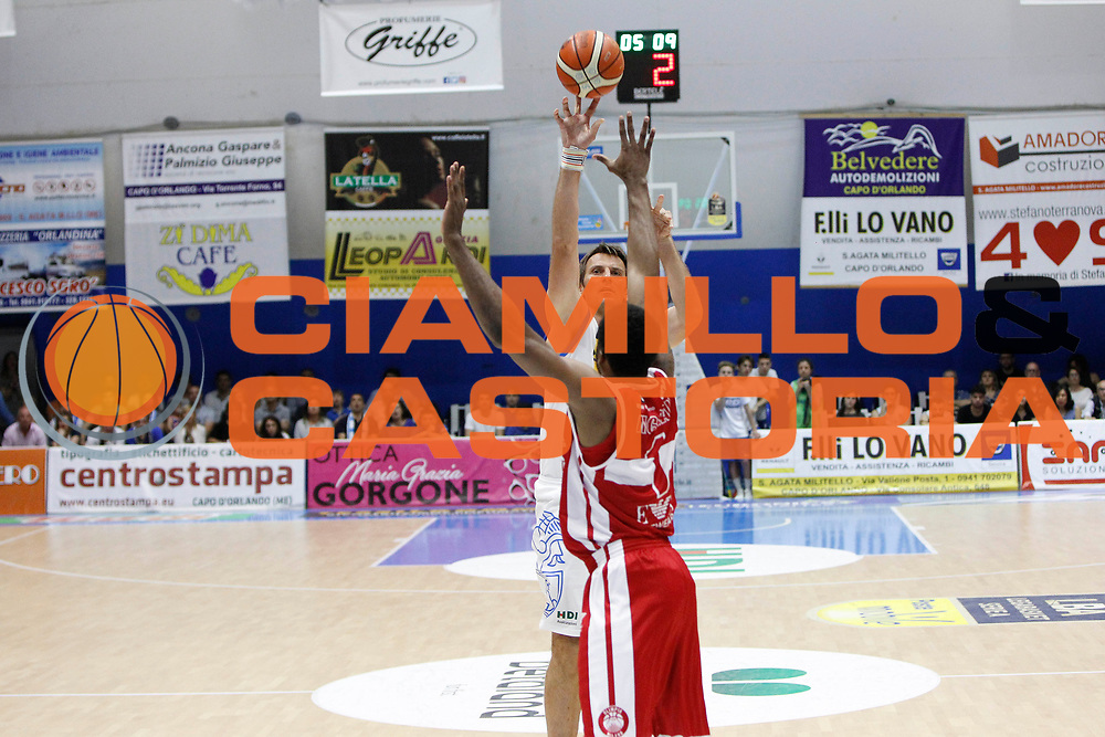 Nicevic Zoltan<br /> Betaland Capo D'Orlando - EA7 Emporio Armani Milano<br /> Lega Basket Serie A 2016/2017<br /> Playoff Gara 4<br /> Capo d'Orlando 18/05/2017<br /> Foto Ciamillo-Castoria