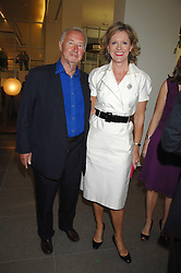 SIR & LADY TERENCE CONRAN at a dinner hosted by Vogue in honour of Antony Gormley held at the new Skylon restaurant at the refurbished Royal Festival Hall, South Bank, London on 22nd May 2007.<br />