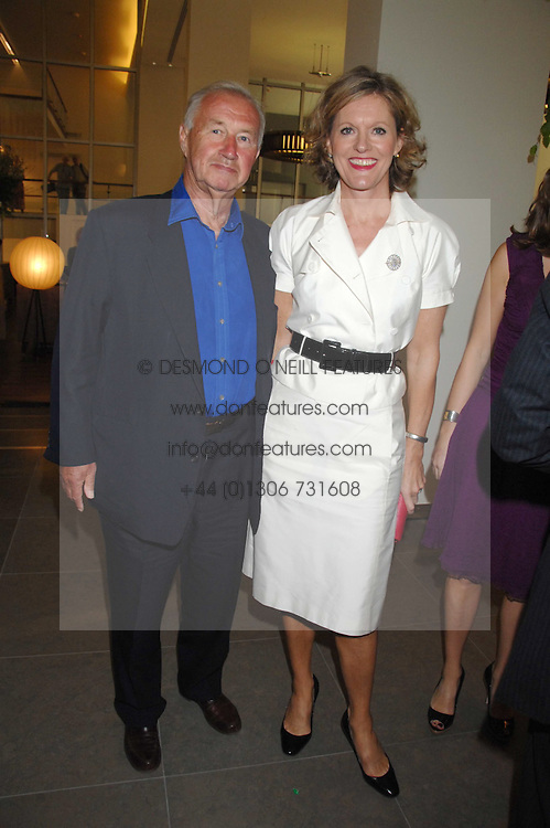 SIR & LADY TERENCE CONRAN at a dinner hosted by Vogue in honour of Antony Gormley held at the new Skylon restaurant at the refurbished Royal Festival Hall, South Bank, London on 22nd May 2007.<br /><br />NON EXCLUSIVE - WORLD RIGHTS