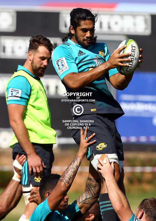 DURBAN, SOUTH AFRICA, 3, May 2016 -Michael Fatialofa during the Hurricanes training session held at Northwood School Durban North , (Photographer Steve Haag) <br /> <br /> Images for social media must have consent from Steve Haag