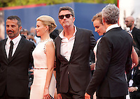 Francesco Munzi, Elizabeth Banks, Pawel Pawlikowski, Diane Kruger and President Alfonso Cuaron at the gala screening for the film Everest and opening ceremony at the 72nd Venice Film Festival, Wednesday September 2nd 2015, Venice Lido, Italy.