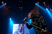 Ronnie James Dio images performing with Heaven & Hell in MSG, New York.
