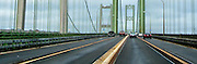 Tacoma Narrows Bridges, Tacoma, Washington, USA panorama