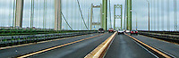 Tacoma Narrows Bridges, Tacoma, Washington, USA panorama