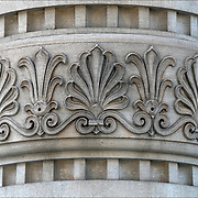 The Acroterion, also the Akroter or Akroterie design going around column.<br /> <br /> The Acroterion was in the Renaissance, the classicism and historical in the use element of ornamentation in architecture.