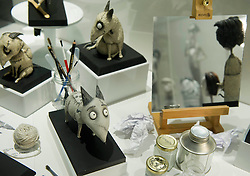 """Conde Duque Art Centre. """"Frankenweenie"""" Film Exhibition.   September 28, 2012. Photo By Belen Diaz / DyD Fotografos / i-Images. SPAIN OUT"""