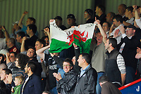 Photo: Leigh Quinnell.<br /> Leyton Orient v Swansea City. Coca Cola League 1. 06/10/2007. Swansea fans celebrate.