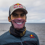 Orlando Duque at the Red Bull Cliff Diving Series in Ireland