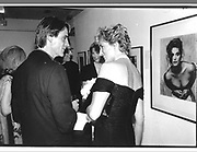 Jeremy Irons and the Princess of Wales. , Princess Diana© Copyright Photograph by Dafydd Jones 66 Stockwell Park Rd. London SW9 0DA Tel 020 7733 0108 www.dafjones.com