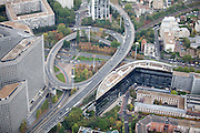 Town of Nanterre in Paris, France.