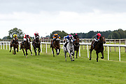 My Style ridden by Charles Bishop trained by Eve Johnson Houghton, Secretfact ridden by J Quinn trained by M S Saunders, Zulu Zander ridden by Oisin Murphy trained by P D Evans, Waseem Faris ridden by George Rooke trained by M F Harris, Storm At Dawn ridden by S M Levey trained by I Mohammed, Princely ridden by Rossa Ryan trained by A G Newcombe, The Lacemaker ridden by Darragh Keenan trained by M F Harris in the Best Free Tips At valuerater.co.uk Handicap - Mandatory by-line: Robbie Stephenson/JMP - 06/08/2020 - HORSE RACING - Bath Racecourse - Bath, England - Bath Races
