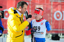 LEKOMTCEV Vladislav, RUS at the 2014 IPC Nordic Skiing World Cup Finals - Middle Distance