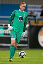 NUNEATON, ENGLAND - Saturday, July 29, 2017: Coventry City's goalkeeper Liam O'Brien during a pre-season friendly between Liverpool and Coventry City at the Liberty Way Stadium. (Pic by Paul Greenwood/Propaganda)