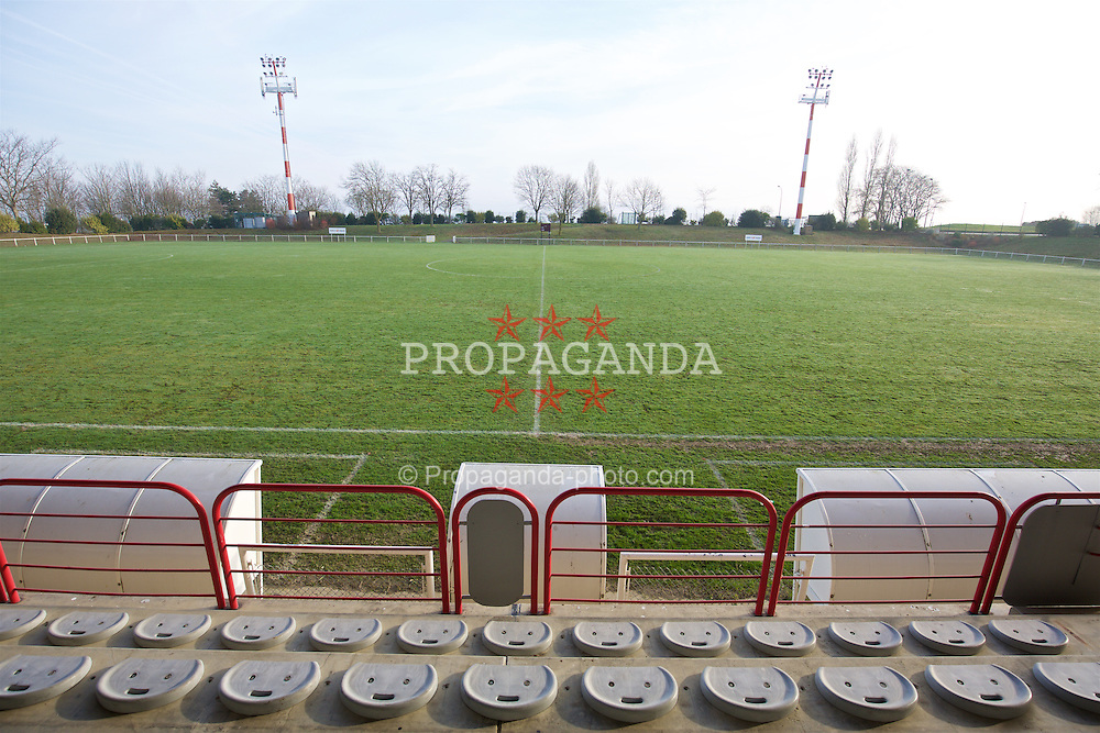 TOULOUSE, FRANCE - Tuesday, January 26, 2016: The Stade Robert Barran on an inspection visit ahead of the UEFA Euro 2016 Tournament. (Pic by David Rawcliffe/Propaganda)