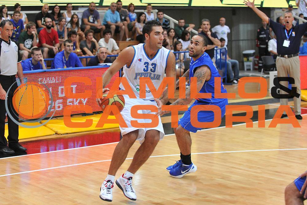 DESCRIZIONE : Trento Primo Trentino Basket Cup Italia Bosnia Erzegovi<br /> GIOCATORE : pietro aradori<br /> CATEGORIA : palleggio<br /> SQUADRA : Nazionale Italia Maschile<br /> EVENTO :  Trento Primo Trentino Basket Cup<br /> GARA : Italia Bosnia Erzegovi<br /> DATA : 26/07/2012<br /> SPORT : Pallacanestro<br /> AUTORE : Agenzia Ciamillo-Castoria/M.Gregolin<br /> Galleria : FIP Nazionali 2012<br /> Fotonotizia : Trento Primo Trentino Basket Cup Italia Bosnia Erzegovi<br /> Predefinita :