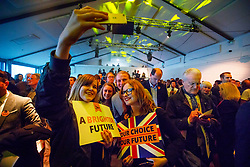 © Licensed to London News Pictures. 17/05/2017. London, UK. Young people at the Liberal Democrat manifesto launch for the 2017 general election in east London on Wednesday, 17 May 2017. Photo credit: Tolga Akmen/LNP