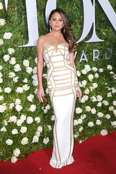 June 11, 2017 - New York, NY, USA - June 11, 2017  New York City..Chrissy Teigen attending the 71st Annual Tony Awards arrivals on June 11, 2017 in New York City. (Credit Image: © Kristin Callahan/Ace Pictures via ZUMA Press)