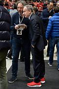 DESCRIZIONE : Milano 2016 Olimpia EA7 Emporio Armani Milano Manital Auxilium Torino<br /> GIOCATORE : Giovanni Petrucci<br /> CATEGORIA : Presidente FIP curiosità<br /> SQUADRA : Olimpia EA7 Emporio Armani Milano<br /> EVENTO :  Beko Legabasket Serie A 2015-2016<br /> GARA : Olimpia EA7 Emporio Armani-Manital Auxilium Torino<br /> DATA : 06/03/2016<br /> SPORT : Pallacanestro <br /> AUTORE : Agenzia Ciamillo-Castoria/I.Mancini <br /> GALLERIA :Eurocup 2015-2016 <br /> FOTONOTIZIA : Milano Eurocup 2015-16 Olimpia EA7 Emporio Armani Milano-Manital Auxilium Torino<br /> Predefinita :