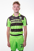 Forest Green Rovers Jon Moran(28) during the Forest Green Rovers Photocall at the New Lawn, Forest Green, United Kingdom on 31 July 2017. Photo by Shane Healey.