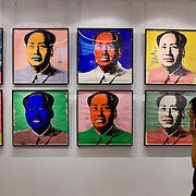 Andy Warhol exhibition called Mao in Hong Kong 2008
