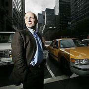 Manhattan, New York, USA, September 26th 2004: Norwegian writer Lars Saabye Christensen visiting Manhattan.<br /> <br />  *** Local Caption ***