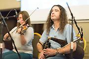 Musical entertainment at the Fleadh  Cheoil na hÉireann Inis 2016 information evening at Treacy's West County Hotel on Thursday evening. Photograph by Eamon Ward